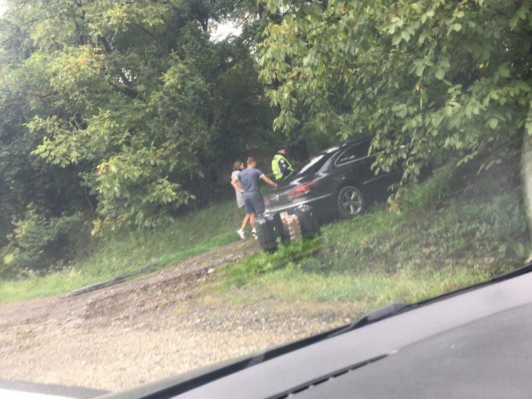Від сильного удару обидва автівки відкинуло у різні сторони: ДТП на Закарпатті (ФОТО. ВІДЕО)