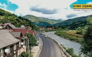 У Рахові завершили асфальтування проїжджої частини дороги (ФОТО)