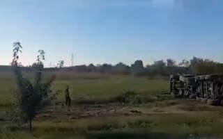 Опубліковано відео з місця моторошної аварії на Закарпатті