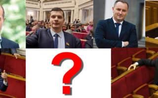 Чи підтримали депутати-закарпатці відсторонення спікера Верховної Ради Разумкова (РЕЗУЛЬТАТИ ГОЛОСУВАННЯ)