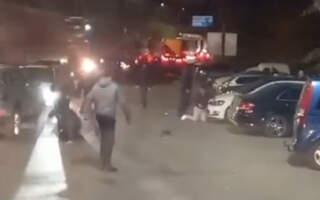 У мережі оприлюднили ВІДЕО жорстокої бійки на кордоні