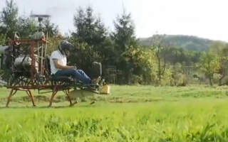 Унікальна Рахівщина: .Чиновник з Рахівщини сам сконструював гелікоптер (ВІДЕО)